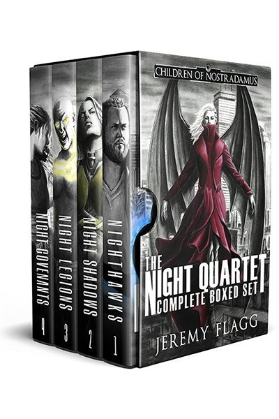 The Night Quartet Boxed Set: A Dystopian Superhero Story