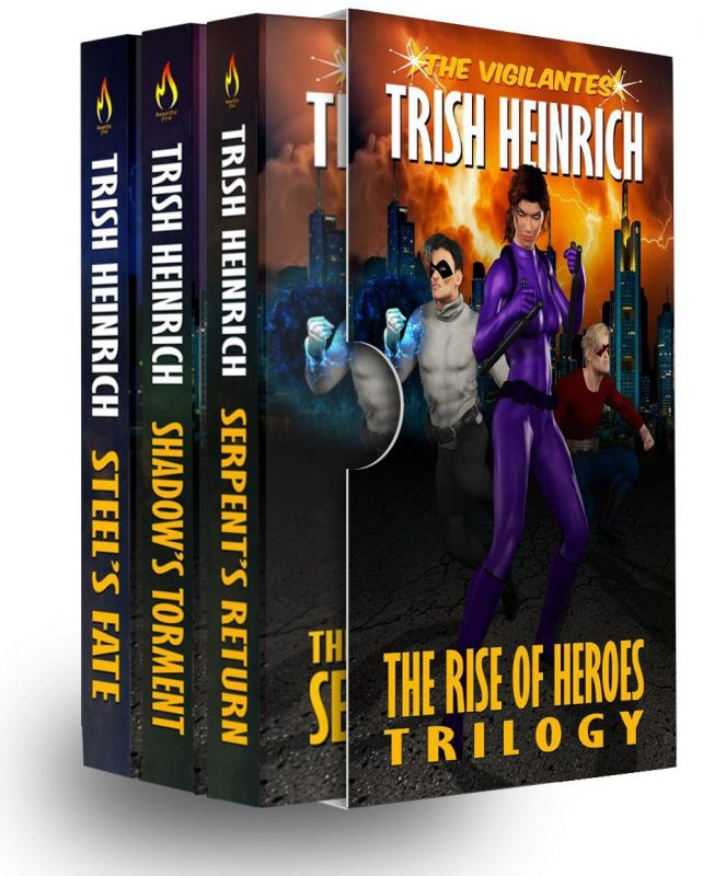 The Vigilantes: The Rise of Heroes Complete Trilogy Boxed Set
