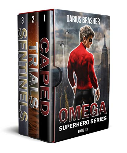 Omega Superhero Series: Books 1-3 (Superhero Box Set)