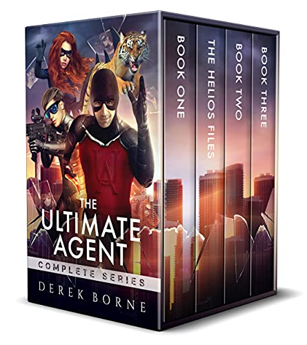 The Ultimate Agent – Complete Series: Book 1, Helios Files, Book 2 & 3